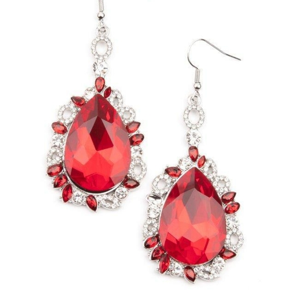 Royal Recognition - Red - Earrings